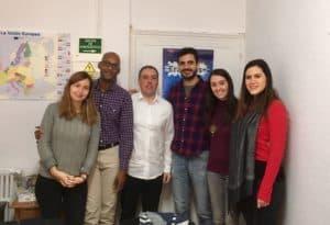 ¡Tenemos a muchos grupos con nosotros en Madrid!