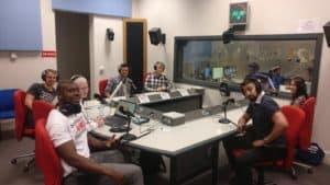 We've been on the radio explaining our KA1 UNIYOUTH!