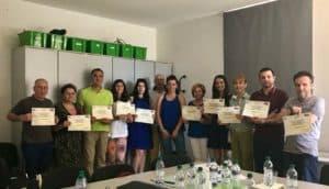 Grandes resultados en el Evento C1 del KA2 AEF Juventud en Italia
