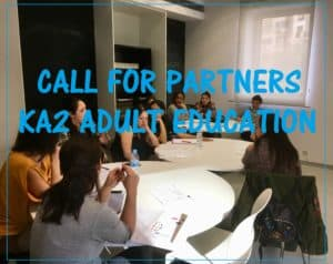 Looking for new partners KA2 Strategic Partnership in Adult Education