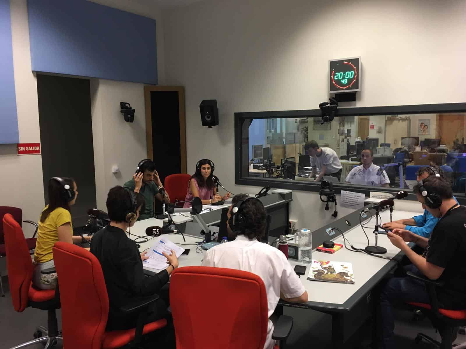 Nuestro proyecto KA1 R3CYCLE en la radio local de Madrid!