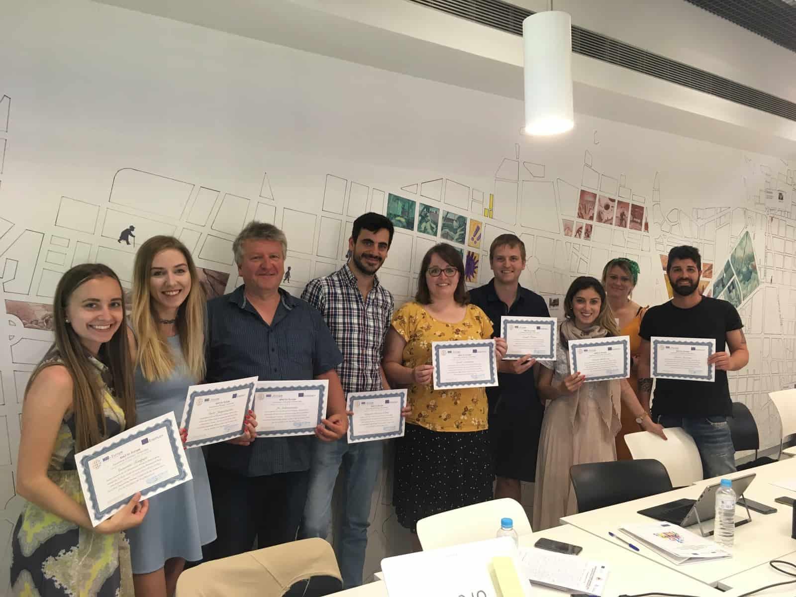 Tercera Reunión Transnacional KA2 SMART en Madrid