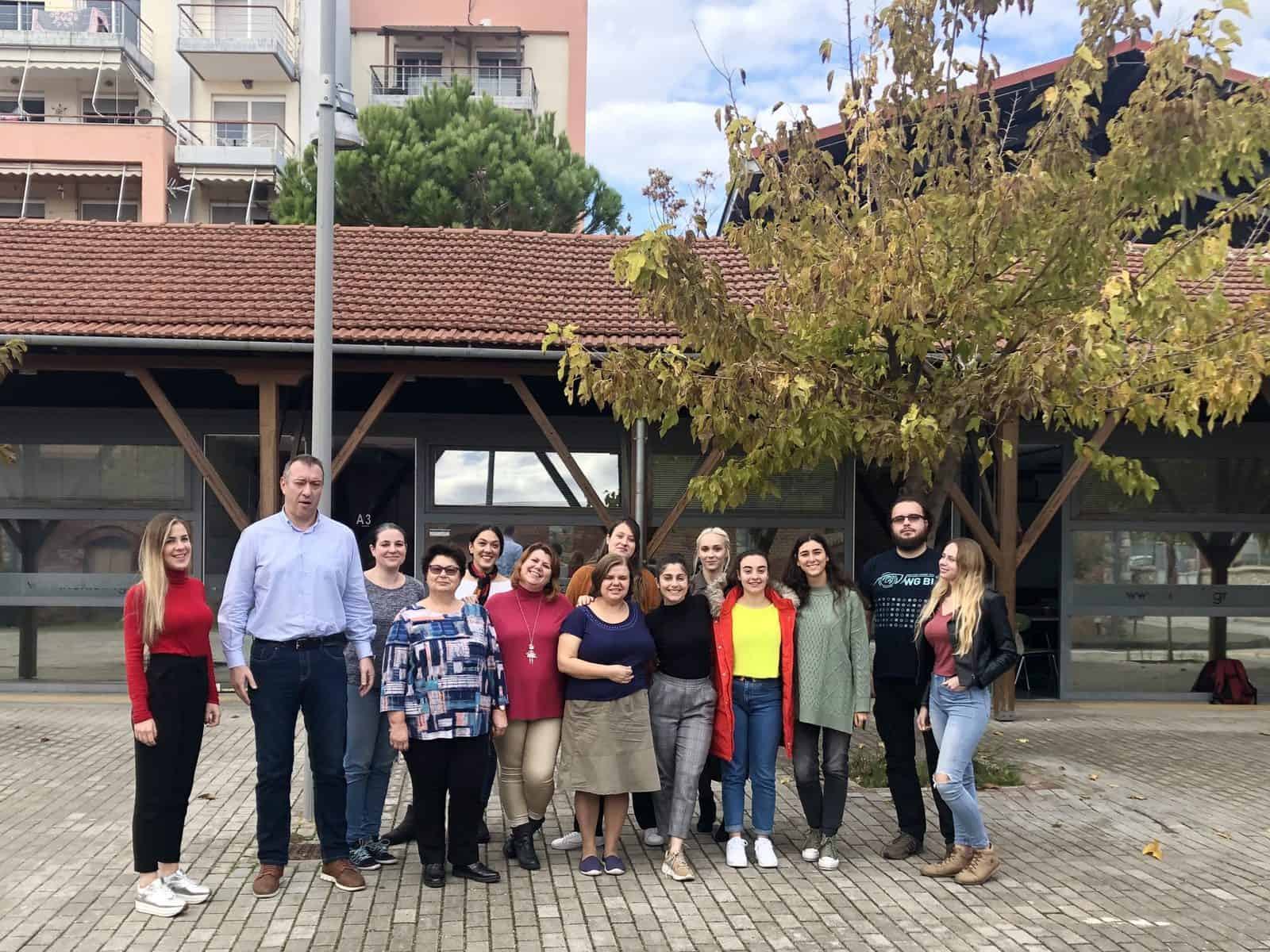 3rd Meeting of the Project about teenage mothers in Volos