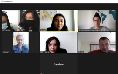 Online Meeting KA1 UNIEUROPE