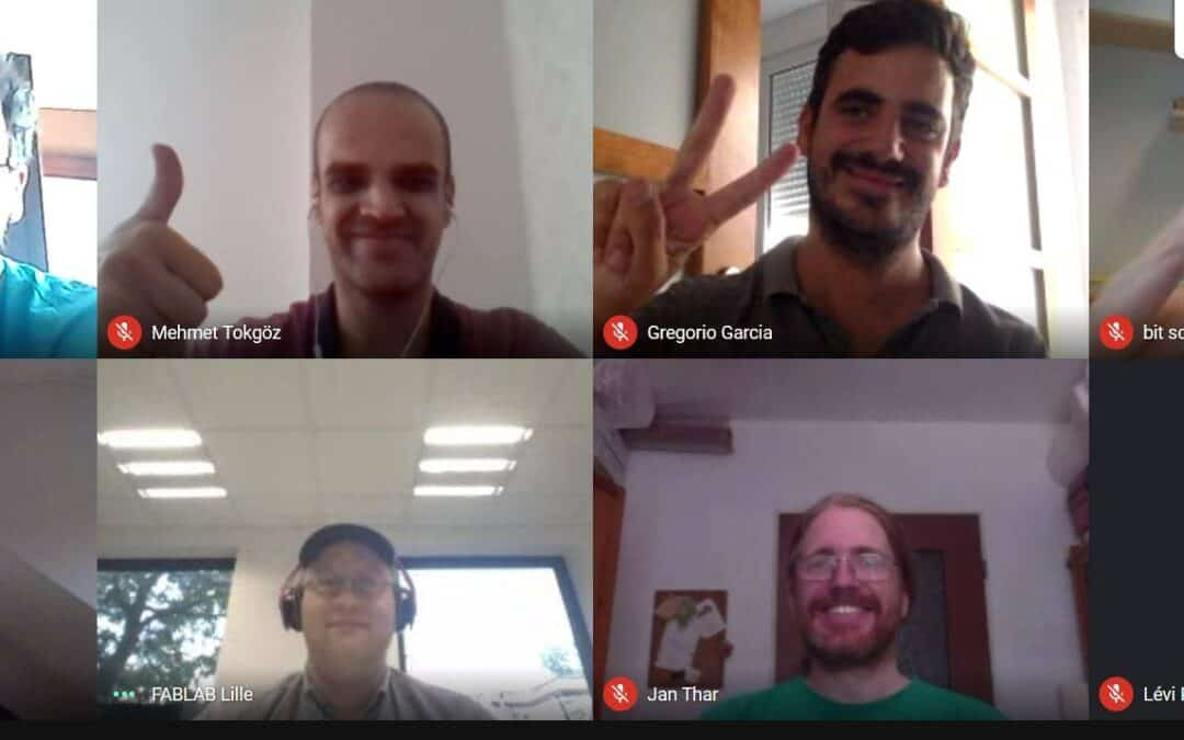 2nd Transnational Project Online Meeting MAKERS+