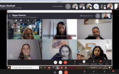 Online Meeting in January of the KA2 HOSTVET
