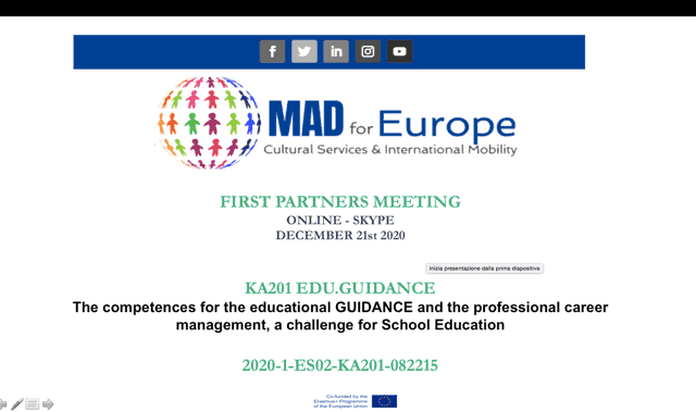EDU.GUIDANCE, a new KA2 coordinated by Mad for Europe