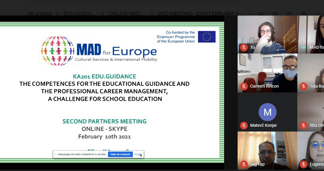 EDU.GUIDANCE dissemination has already started