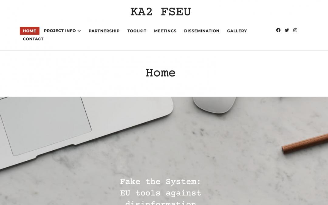 New Website of the KA2 FSEU